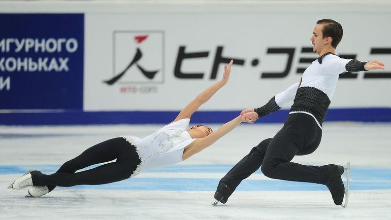 Ксения СТОЛБОВА (слева) и Федор КЛИМОВ. Фото Антон СЕРГИЕНКО
