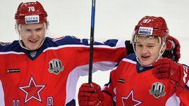 Сергей ШУМАКОВ (слева) и Кирилл КАПРИЗОВ.