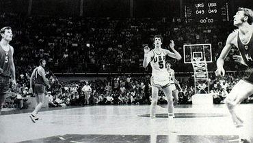 9 сентября 1972 года. Мюнхен. СССР - США - 51:50. Впереди - самое интересное.