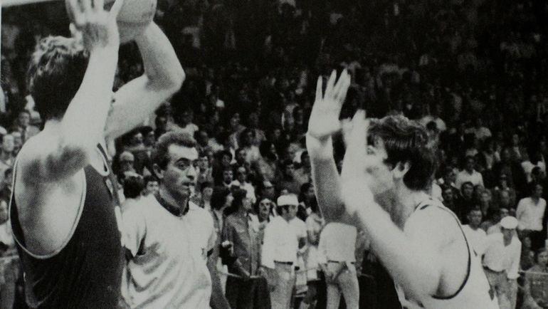9 сентября 1972 года. Мюнхен. СССР – США – 51:50. Иван ЕДЕШКО (слева).