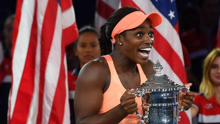 Слоун СТИВЕНС - чемпионка US Open-2017. Фото AFP