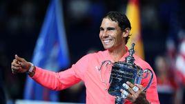 Воскресенье. Нью-Йорк. Рафаэль НАДАЛЬ - трехкратный чемпион US Open.