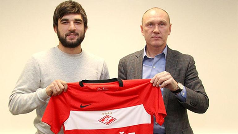 Георгий ДЖИКИЯ (слева) и Сергей РОДИОНОВ. Фото spartak.com