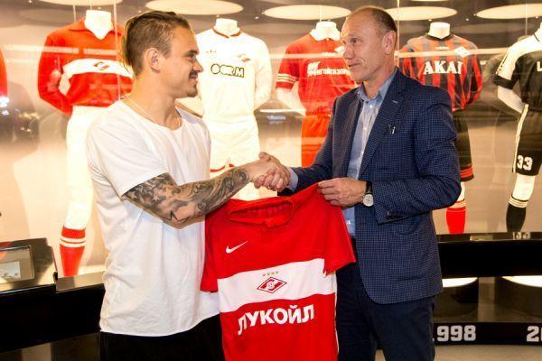 Андрей ЕЩЕНКО (слева) и Сергей РОДИОНОВ. Фото spartak.com