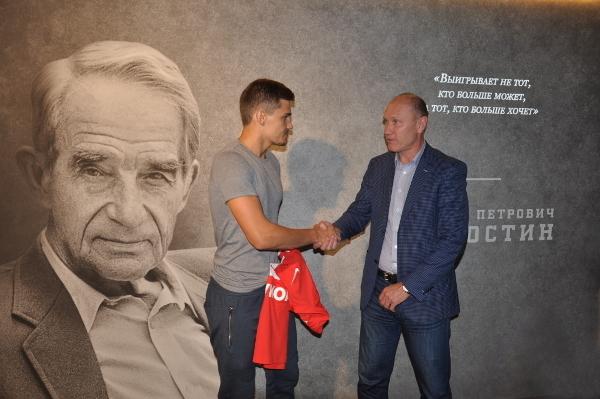 Роман ЗОБНИН (слева) и Сергей РОДИОНОВ. Фото spartak.com