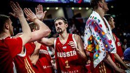 Алексей ШВЕД - один из лучших в составе сборной России на Евробаскете.