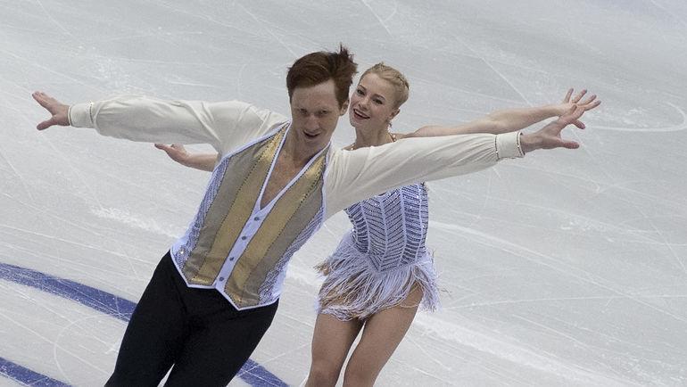 Евгения ТАРАСОВА и Владимир МОРОЗОВ. Фото Ксения НУРТДИНОВА
