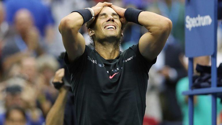 Рафаэль НАДАЛЬ снова выиграл US Open. Фото AFP