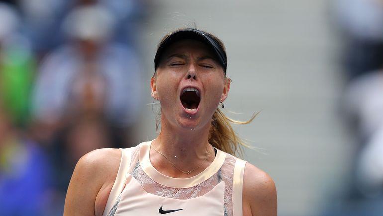 Мария ШАРАПОВА обыграла Симону Халеп, но не дошла даже до четвертьфинала. Фото AFP