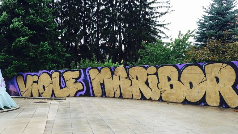 "Граффити в Мариборе. Фото Дмитрий ЗЕЛЕНОВ, ""СЭ"""