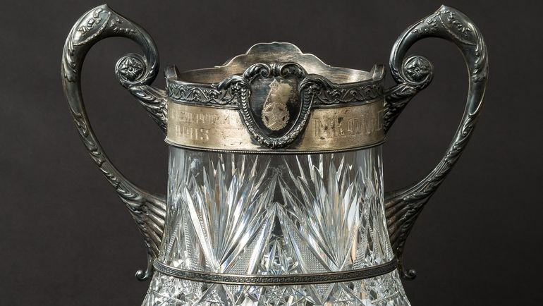 Кубок победителю чемпионата Москвы по плаванию (50-е годы).
