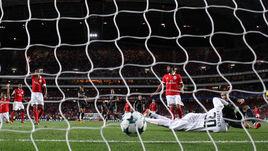 "Сегодня. Лиссабон. ""Бенфика"" - ЦСКА - 1:2. 71-я минута. Гол Тимура ЖАМАЛЕТДИНОВА."