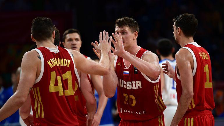Россия - в полуфинале Евробаскета! Фото AFP