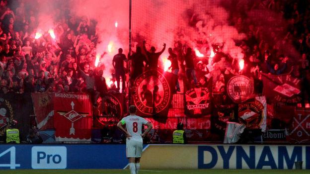 Денис ГЛУШАКОВ провел на поле в Мариборе 28 минут. Фото Reuters