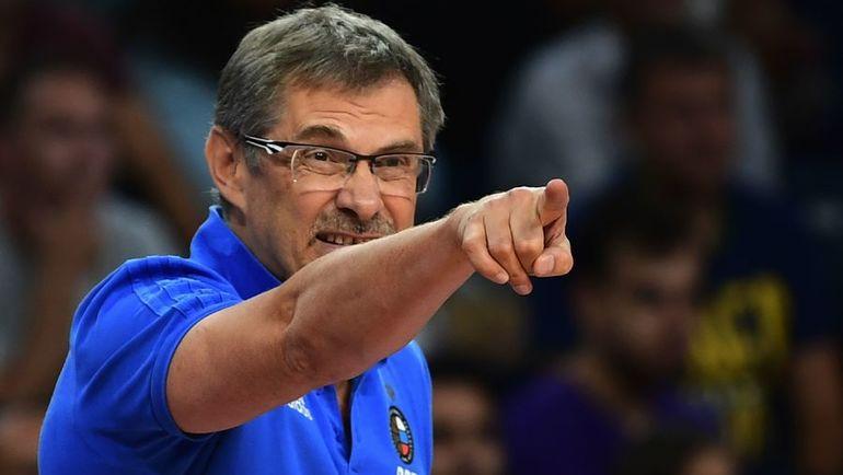 Среда. Стамбул. Греция - Россия - 69:74. Сергей БАЗАРЕВИЧ. Фото AFP