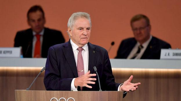 Руководитель комиссии МОК Денис ОСВАЛЬД. Фото AFP