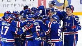 """Сегодня. Санкт-Петербург. СКА - """"Металлург"""" - 4:3 ОТ. Армейцы одержали 11-ю победу подряд."""