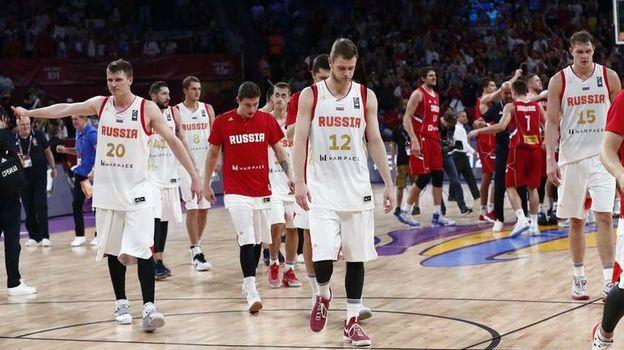 Сегодня. Стамбул. Россия - Сербия - 79:87. Теперь россияне поспорят за бронзу с Испанией. Фото Reuters