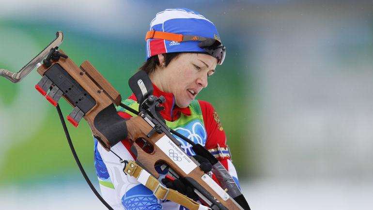 2010 год. Ольга МЕДВЕДЦЕВА на Олимпиаде в Ванкувере. Фото Александр ВИЛЬФ
