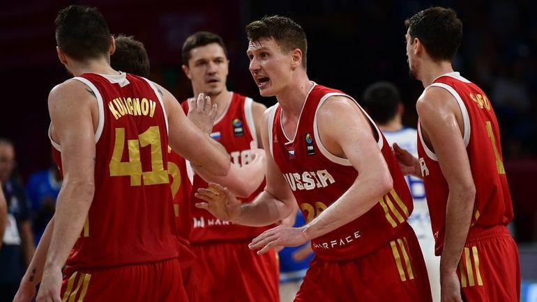 Сможет ли сборная России одолеть грозную команду Испании в матче за третье место Евробаскета? Фото AFP
