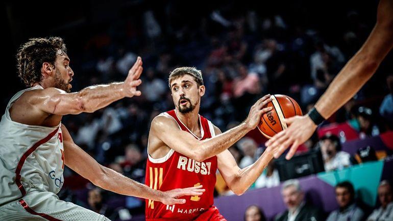 Алексей ШВЕД. Фото FIBA