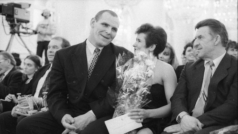 1994 год. Александр КАРЕЛИН и Елена ВАЙЦЕХОВСКАЯ. Фото Дмитрий СОЛНЦЕВ
