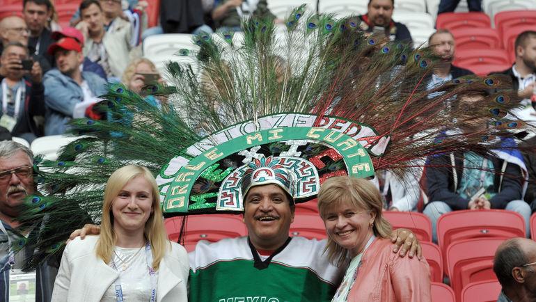Россияне покупают билеты особенной категории. По интересу других стран лидируют мексиканцы, а также фанаты из Аргентины, Бразилии, США и Китая. Фото Алексей ИВАНОВ