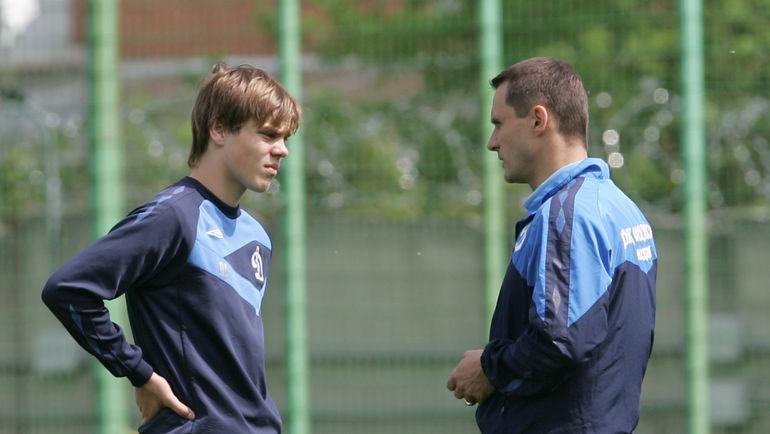 Александр КОКОРИН (слева) и Андрей КОБЕЛЕВ в 2009 году. Фото Татьяна ДОРОГУНИНА