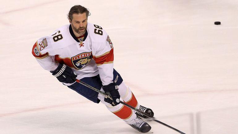 Яромир ЯГР: из НХЛ - в КХЛ? Фото AFP