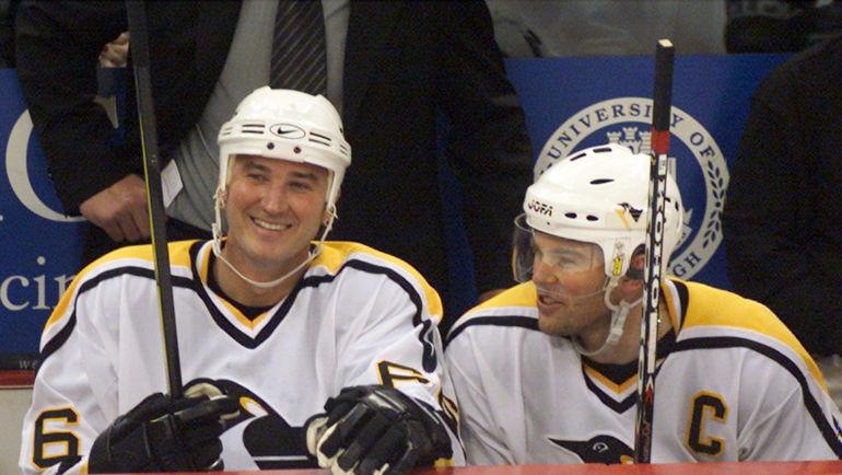 2000 год. Марио ЛЕМЬЕ (слева) и Яромир ЯГР. Фото REUTERS