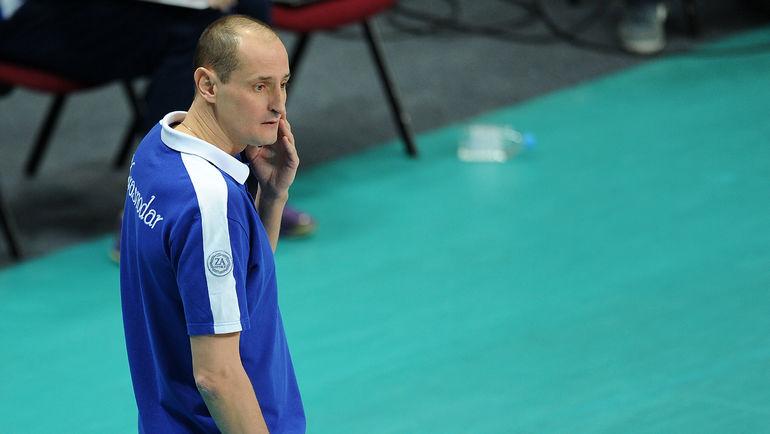 Константин УШАКОВ - новый главный тренер сборной России по волейболу. Фото Алексей ИВАНОВ