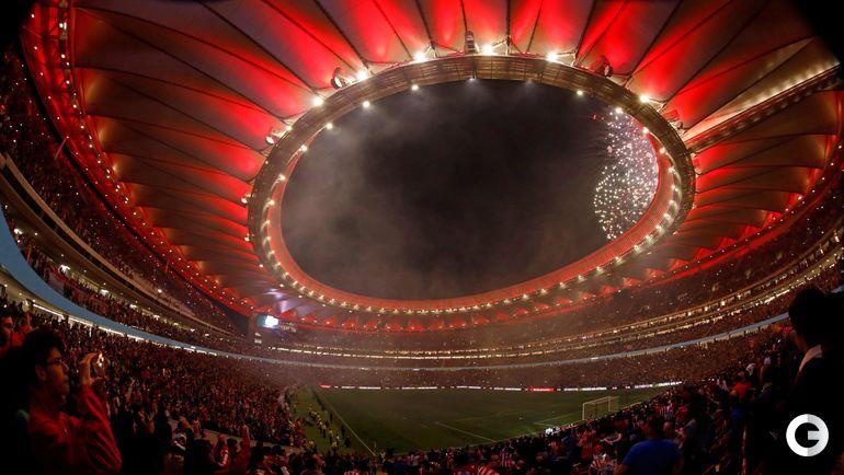 """Стадион """"Метрополитано"""", Мадрид примет финал Лиги чемпионов-2018/2019."""