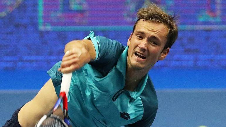 Сегодня. Санкт-Петербург. Даниил МЕДВЕДЕВ проиграл в первом круге турнира. Фото Пресс-служба SPb Open.