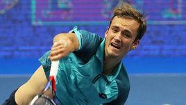 Сегодня. Санкт-Петербург. Даниил МЕДВЕДЕВ проиграл в первом круге турнира.