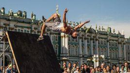 Площадки для воркаута в Санкт-Петербурге