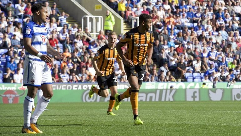 "Сегодня. Рединг. ""Рединг"" - ""Халл Сити"" - 1:1. Фрейзер КЭМПБЕЛЛ (справа) забил первый гол за ""тигров"" после возвращения. Фото Hull City"