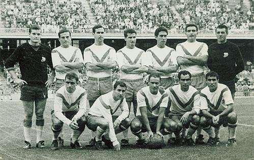 """""""Европа"""" – исторический клуб из барселонского района Грасия, один из десяти клубов-создателей испанской ла лиги в 1929 году."""