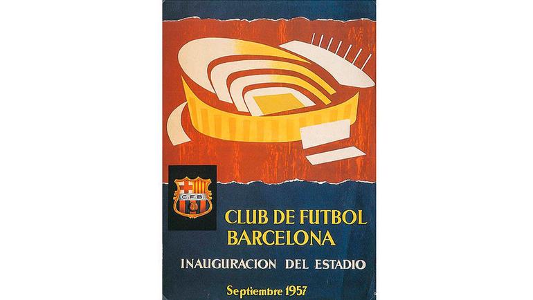Официальный постер, посвященный открытию нового стадиона. Фото disenocarteles.com