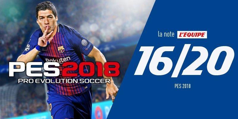 Оценка PES 2018 от L'Equipe. Фото L'Equipe