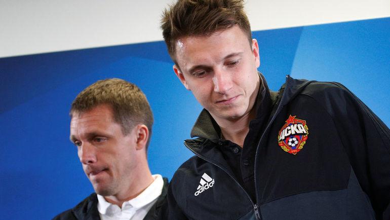 Виктор ГОНЧАРЕНКО (слева) и Александр ГОЛОВИН. Фото REUTERS