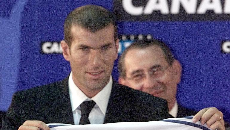 """В 2001 году Зинедин ЗИДАН сменил """"Ювентус"""" на """"Реал"""". Фото REUTERS"""