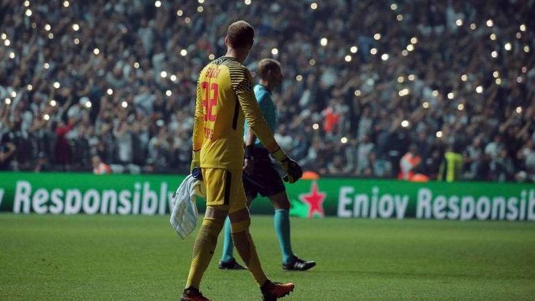 Игра прерывалась из-за отключения света на арене. Фото telegraph.co.uk