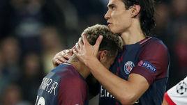 """Вчера. Париж. ПСЖ - """"Бавария"""" - 3:0. КАВАНИ простил НЕЙМАРА."""