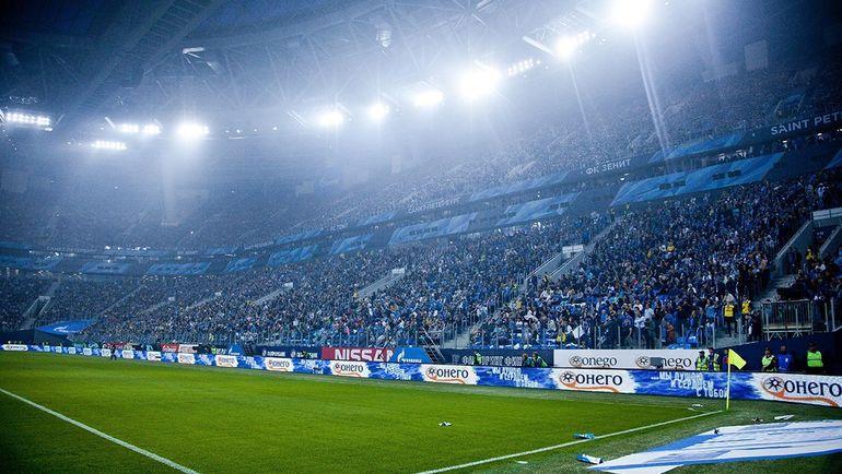 """Стадион """"Санкт-Петербург"""". Фото twitter.com/spb_stadium"""