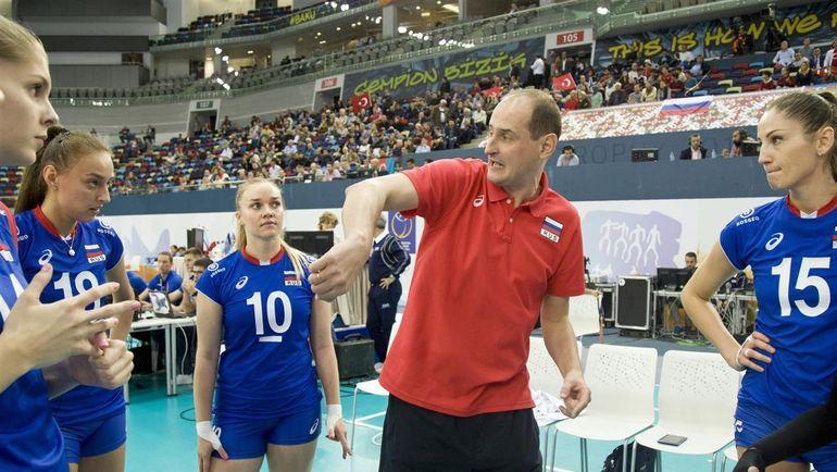 Константин УШАКОВ возглавил сборную России за два дня до чемпионата Европы. Фото cev.lu