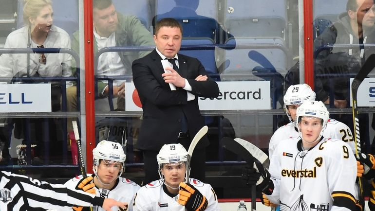 """""""Северсталь"""" пытается сохранить хоккей в Череповце. Фото ХК """"Северсталь"""""""