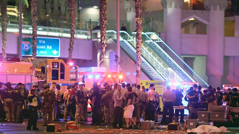 Трагедия в Вегасе. Фото AFP