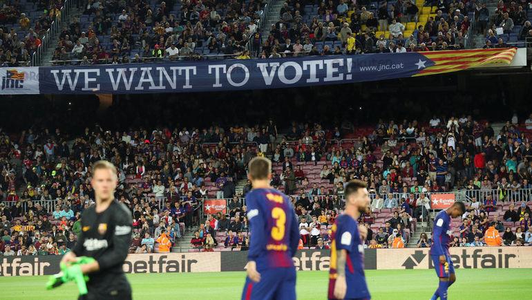 В воскресенье в Каталонии проходил референдум о независимости от Испании. Фото REUTERS