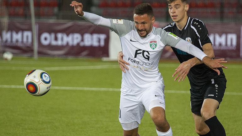 Марков - автор лучшего гола 12-го тура премьер-лиги
