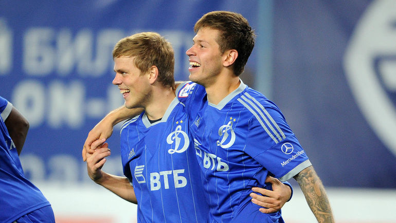 Александр КОКОРИН (слева) и Федор СМОЛОВ. Фото Алексей ИВАНОВ
